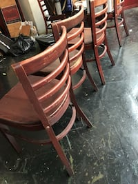 Commercial Brown wooden chairs  Los Angeles, 90013
