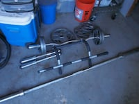 Selling Olympic Weights & Olympic BAR! Los Angeles