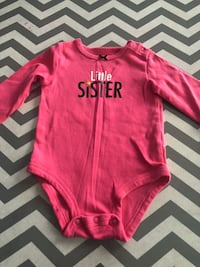 "Girls 6 month ""Little Sister"" onesie Woodbridge, 22192"