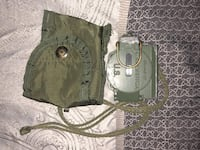 two brown and green leather bags Clarksville, 37042