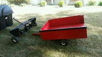 red and black utility trailer Dayton, 45405