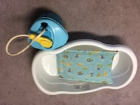 Baby's white and blue bather Edmonton, T6K