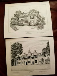 Pair of Richard Sebring Lithograph Prints