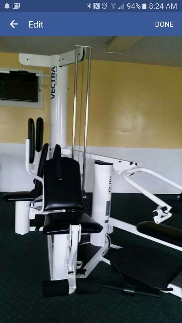 Used vectra on line 1800 home gym. price reduced!! for sale in