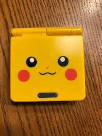 Gameboy advances sp pikachu edition. Great like new condition