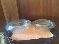 2 unused princess house Fantasia casserole dishes with lids( 3 qt & ?) Osteen, 32764