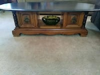 Vintage coffee table with storage Highland, 92346