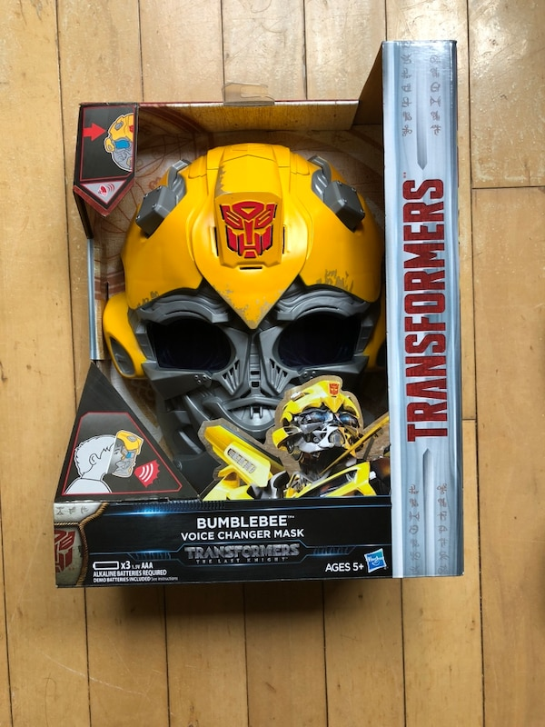 Transformers The Last Knight Bumblebee Voicechanger Mask
