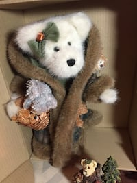 brown and white bear plush toy Severn, 21144
