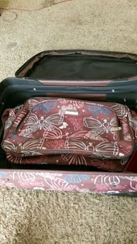 Suite case and duffle bag...
