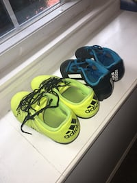 Soccer cleats. Size 3 and Size 13. Northborough, 01532