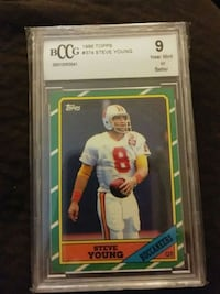 1986 TOPPS STEVE YOUNG ROOKIE CARD Glen Burnie, 21061