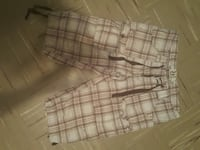 white and brown plaid cargo shorts Medicine Hat, T1A 0S6