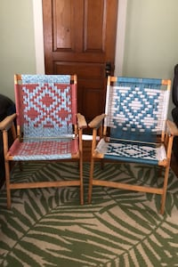 His and hers macrame chairs  Manchester, 17345