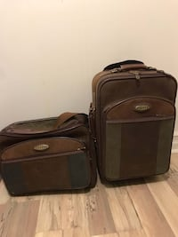 Leather Luggage Set Barrie