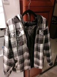 PLAID BILLABONG JACKET M/L