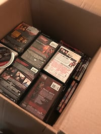 Approx 100 assorted DVD movies null, 77095