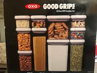 OXO Good Grips 10-Piece Airtight Food Storage POP Container Value Set Markham