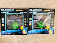 Brand new Flashing Crystal ball (pick up only) $10 both Alexandria, 22315