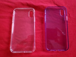 2 silicone iPhone XR cases