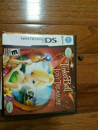 Tinkerbell and the Lost Treasure Nintendo DS game case Herndon, 20171