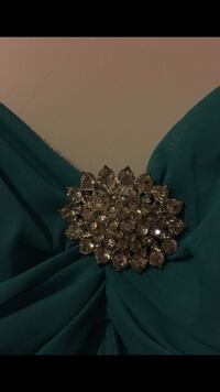 silver-colored brooch with clear gemstones Marysville, 98270