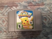 Hey you Pikachu Nintendo 64 game Toronto, M3M