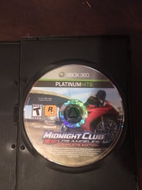 midnight club la complete  game for the xbox 360 Sweetwater, 37874