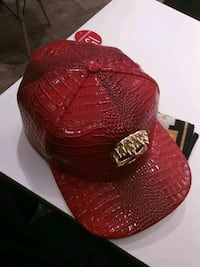 Crocodile styled snap back cap in great condition $35.00