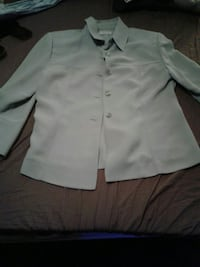This is a very nice polyester dress shirt. Terre Haute, 47803