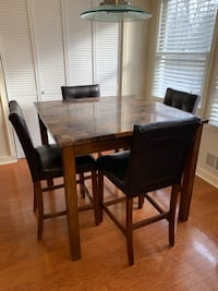 5 Piece Counter Height Table and Chairs Set Farmingdale, 07727