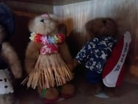 Set of collectable bears