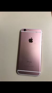 rose gold iPhone 6s with case Hampton, 23664