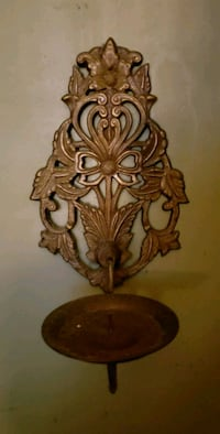 Brass candle sconce Miami, 33138