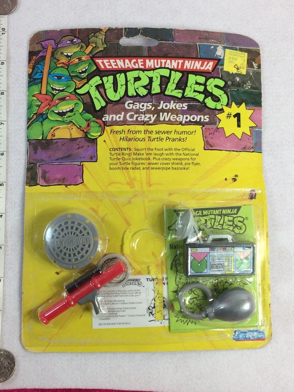 1988 Teenage Mutant Ninja Turtles ~ Gags, Jokes And Crazy Weapons # 1 Rare  Tmnt $30  obo Pu in Franklin