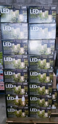 48ft led string lights!! $45 each