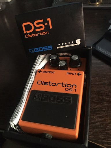 BOSS DS1 DISTORTION PEDAL 5f8c396f-24e6-4862-bf37-20c543412f52