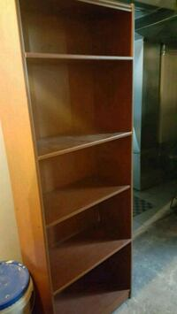 wooded shelve
