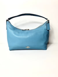 Coach East/West Celeste Pebbled Leather Hobo
