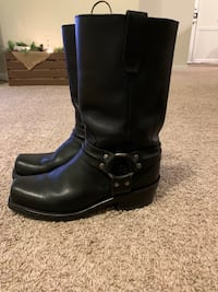Black Leather Boots Charlotte, 28270