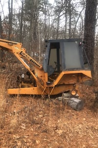 Backhoe Case 480 c