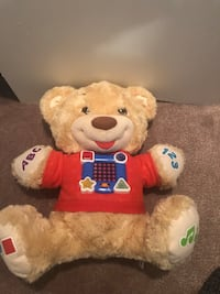 Fisher price learning teddy bear Markham, L6C 0K8