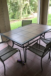 Patio table with 4 chairs Tampa, 33647