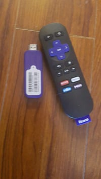 Roku streaming stick with black remote Barrie, L4N 7G4