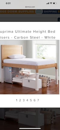 """Dorm room bed risers max 23"""" Clemmons, 27012"""