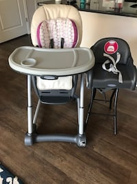 Graco 4in 1 seating system high chair Lyndhurst, 07071
