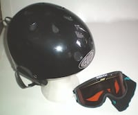 Kuu Grind Ski Snowboarding Helmet Size Large Plus Smith Goggles  London