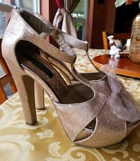 High heel glitter shoes Tampa, 33626