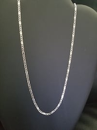 Brand New Sterling Silver Custom Figaro Chain Burnaby