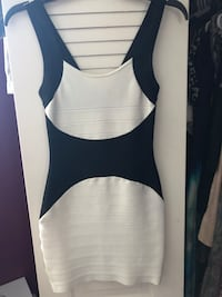 Guess by MARCIANO Black and White Bandage Dress Size XS Miami, 33173